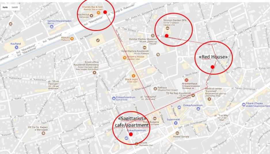 Map Sagitarius